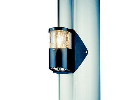 AQUASIGNAL Series 25 Classic Starboard Light 10W Black Housing